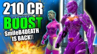 DCUO: SmileB4DEATH is NOW 210CR!! HOW YOU CAN DO THE SAME!!