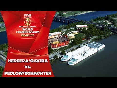 Gavira/Herrera (ESP) V Pedlow/Schachter (CAN) - FIVB Beach Volleyball World Champs