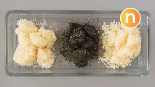 Muah Chee | Chinese Mochi | Glutinous Rice Ball Snack with Sesame Seeds | [Nyonya Cooking]