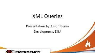 SQL XML Queries