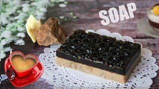 DIY: Soap ● Массажное КОФЕЙНОЕ мыло-скраб ● Простой рецепт ● Мастер-класс ● Coffee Soap