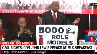 John Lewis At Martin Luther King Day Rally In Miami