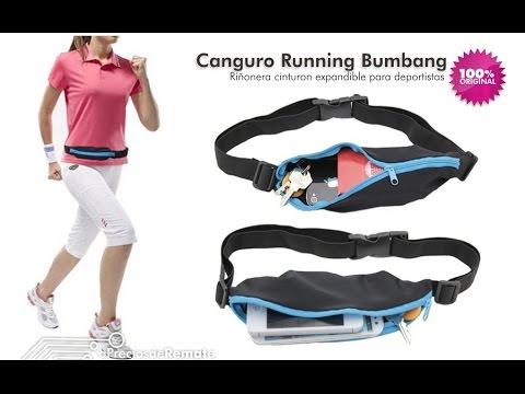 Correa deportistas Cinturón con Bolsillo canguro para celular Running - aPreciosdeRemate
