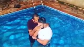 Batismo do Flávio na igreja de Ribeirão Preto
