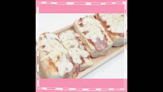 SistaCafe Channel : วิธีทำ Pizza Baguette