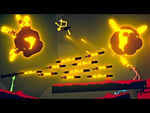 INSANE 1 Hit Point Challenge! (Stick Fight Multiplayer Gameplay NEW Update)
