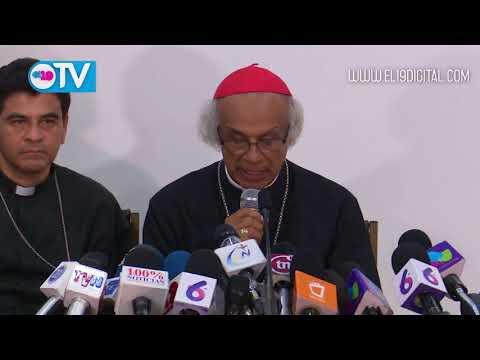 Conferencia Episcopal de Nicaragua acepta ser mediadora y garante del diálogo por la Paz