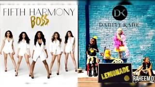 Danity Kane x Fifth Harmony - BO$$ Lemonade (Mashup) (Feat Tyga)