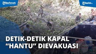 Detik-detik Kapal 'Hantu' yang Ditembaki Helikopter Polisi Keluar dari Hutan Bakau