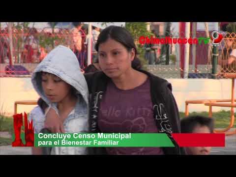 Concluye Censo Municipal para el Bienestar Familiar