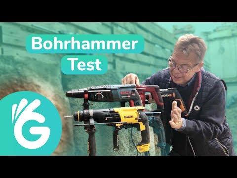Bohrhammer Test – 6 Bohrhämmer im Vergleich
