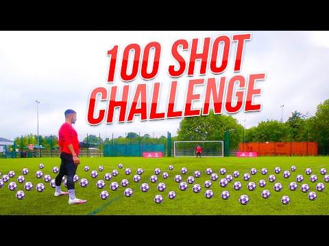 EXTREME 100 BALL SHOOTING CHALLENGE   F2Freestylers