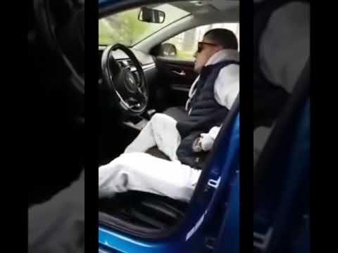 Павел Прилучный уснул в чужой машине видео