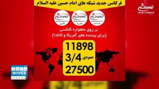 Imam Hussein TV Group Frequency Change