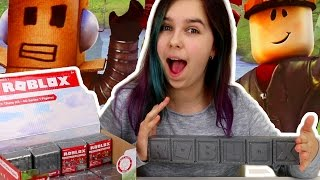ROBLOX TOY FIGURES BLIND BOX OPENING | RADIOJH AUDREY