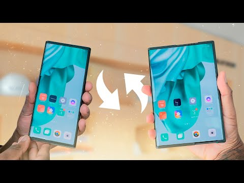 OPPO X 2021 is already a reality: meet the first roll-up mobile in history