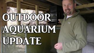 Outdoor Aquarium Update May 2016