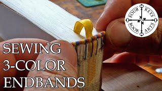 Making A Handmade Book - Part 2 - Rounding & Endbands