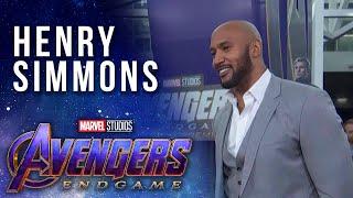 S.H.I.E.L.D. Director Henry Simmons LIVE at the Avengers: Endgame Premier