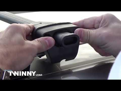 Service Best International - Twinny Load | Dakdragerset Logico voor autos met open reling