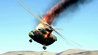 DCS World 2 Helicopter Crashes Compilation #3 -1440p