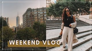 WEEKEND VLOG: Food, Cocktail Parties & Outfits | Antonnette