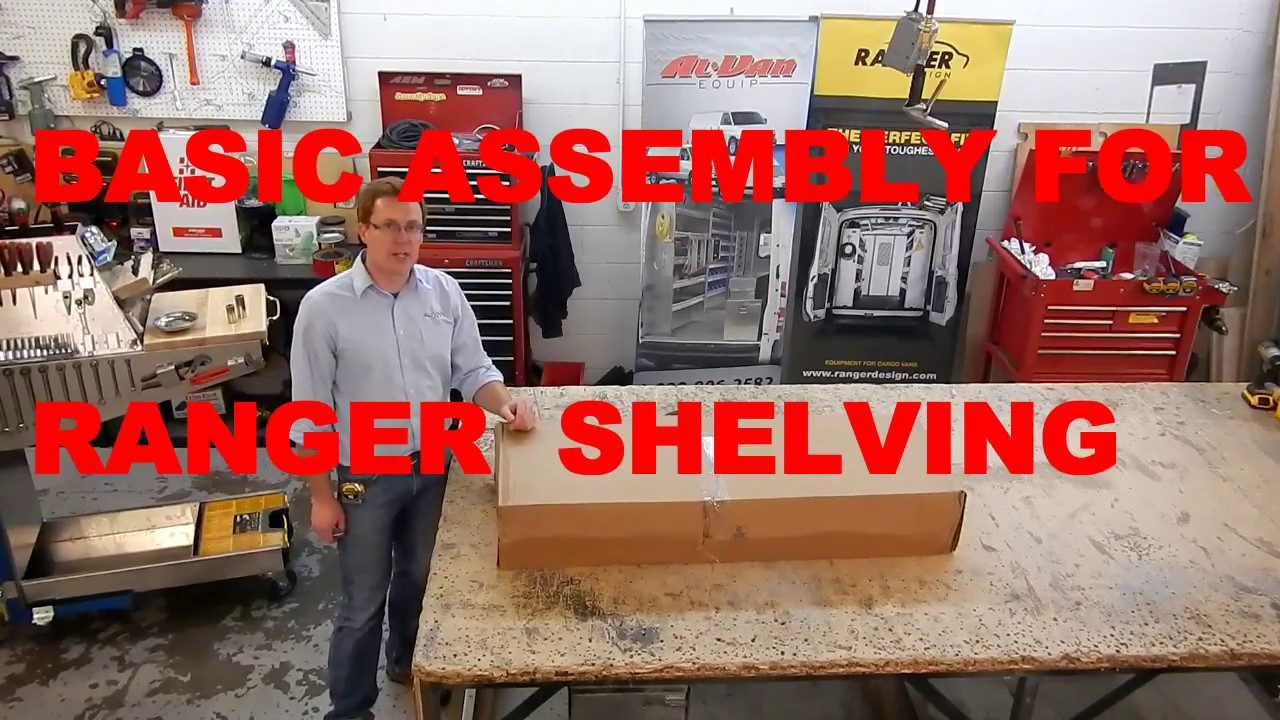 Ranger Shelving Assembly