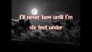 Down   Thousand Foot Krutch (Lyrics)