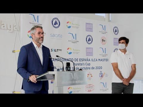 Presentación del Campeonato de España ILCA Master de regatas