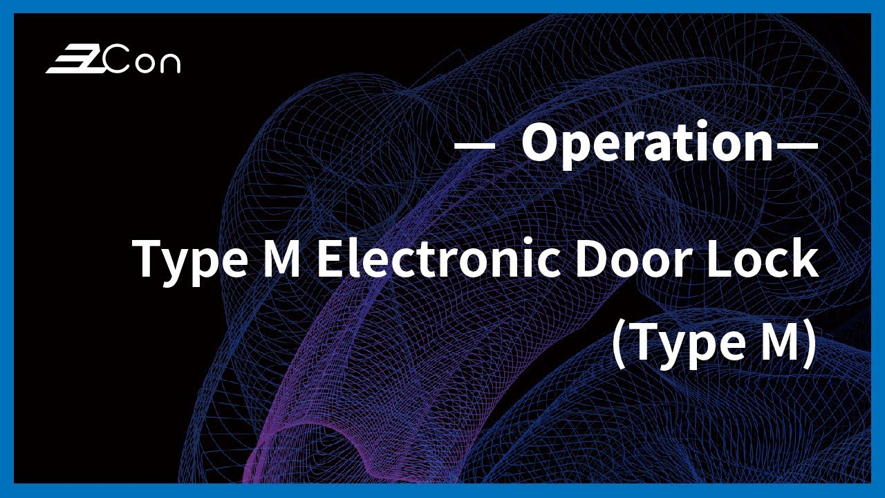 Electronic Door Lock | RX-DCDILM-M-1(Type M) | Feature of product | EzCon