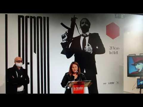 La Térmica acoge la primera exposición mundial del fotógrafo británico Perou sobre Marilyn Manson