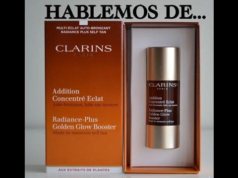 HABLEMOS DE...Autobronceador facial  Addition Concentre Eclat CLARINS// Review y opiniones