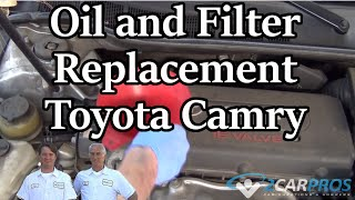 Oil and Filter Toyota Camry 2007-2011