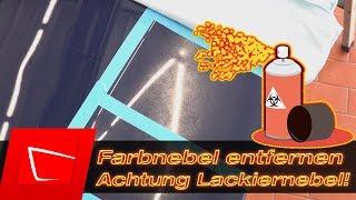 Lack Sprühnebel Farbnebel entfernen - Koch Chemie Eulex Reinigungsknete Isopropanol im Test
