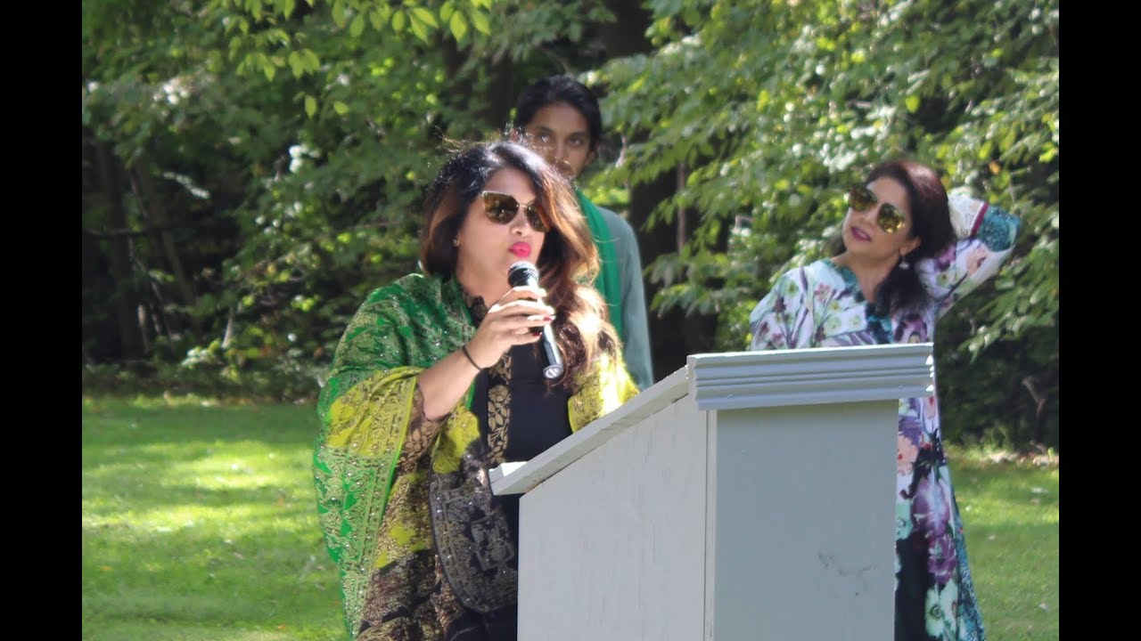 Keynote Speech from One World Day 2018 at Pakistani Garden