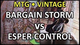 [2018-01-07] [VINTAGE] Bargain Storm vs Esper Control 2