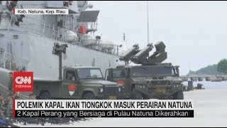 Live streaming 24 jam: https://www.cnnindonesia.com/tv  Masuknya kapal penangkap ikan asal Tiongkok ke wilayah perairan utara Natuna, ditanggapi serius oleh TNI. TNI, melalui komando gabungan wilayah pertahanan 1, menambah kekuatan di perairan Natuna, dengan mengerahkan kapal perang dan pesawat intai Maritim.  Ikuti berita terbaru di tahun 2019 dengan kemasan internasional berbahasa Indonesia, dan jangan ketinggalan breaking news 2018 dengan berita terakhir dan live report CNN Indonesia di https://www.cnnindonesia.com/tv dan channel CNN Indonesia di Transvision.   Dalam tahun politik sekarang ini dan menuju pilpres 2019, CNN Indonesia mencanangkan sebagai Layar Pemilu Tepercaya. Kami akan menayangkan konten-konten politik 2019 secara seimbang untuk mengawal demokrasi dan demokratisasi di Indonesia yang kami cintai.   CNN Indonesia tergabung dalam grup Transmedia. Dalam Transmedia, tergabung juga Trans TV, Trans7, Detikcom, Transvision, CNN Indonesia.com dan CNBC Indonesia.   Follow & Mention Twitter kami: @myTranstweet @cnniddaily @cnnidconnected  @cnnidinsight  @cnnindonesia   Like & Follow Facebook: CNN Indonesia  Follow IG:  cnnindonesiatv
