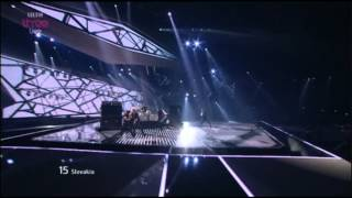 *Eurovision 2012* *Semi Final 2* *15 Slovakia* *Max Jason Mai* *Don't Close Your Eyes* 16:9 HQ