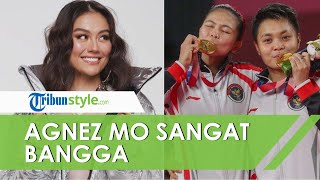 Greysia Polii Raih Emas Olimpiade Tokyo 2020, Agnez Mo Super Bangga, Bongkar Chat Manis Sang Sahabat