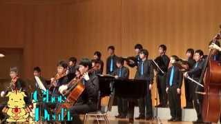 アシタカとサン〔久石譲「もののけ姫」より〕男声合唱と弦楽によるChorDraft
