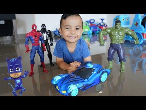 PJ Masks Cat-Car Light Up Racer Playtime With CKN Toys