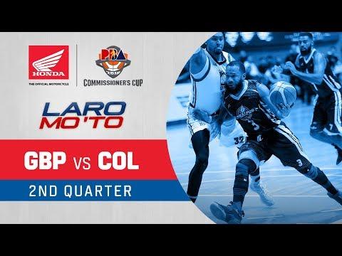 [Sport5]  GlobalPort vs. Columbian Dyip – Q2 | PBA Commissioner's Cup 2018