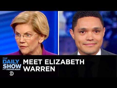 Getting to Know Dem: Elizabeth Warren   The Daily Show