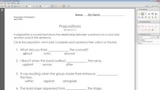 Annotate a PDF with Adobe Reader
