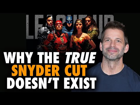 Why Justice League's TRUE Snyder Cut Doesn't Exist - But Still... #ReleaseTheSnyderCut