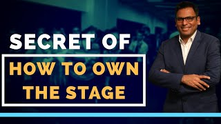 Secret Of How To Own The Stage | Amandeep Thind