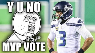 The REAL REASON Russell Wilson Hasn't Received Even a SINGLE MVP VOTE...Not One...EVER!