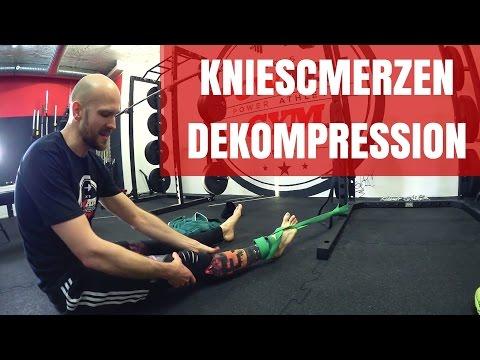 Knie-Arthroskopie als heilen