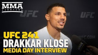 UFC 241: Drakkar Klose Wants To 'Make Enough Money' So His Son Won't Fight - MMA Fighting