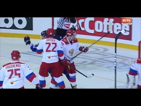 ЕВРОТУР 2019  Хоккей Россия-Финляндия 1-3